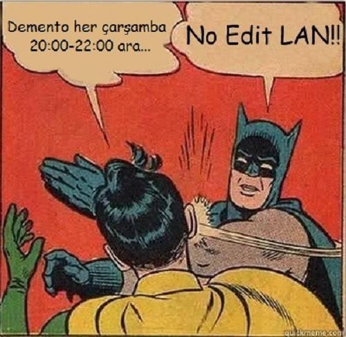 no edit lan